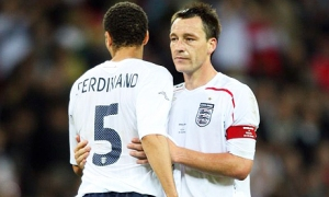 Ferdinand and Terry in better days (Image from Getty)