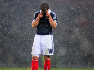 World Cup Dream dies for Scotland (Image from PA)
