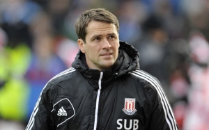Injury ravaged - Owen spent a lot of time on the Stoke bench (Image from PA)