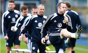 Scotland prepare midweek for today's game (Image from Guardian.co.uk)
