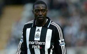 Which way to the goal? One in 22 for Ameobi domestically is not a good return  (Image from Reuters)