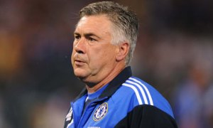 Off to Real for Ancelotti?  (Image from PA)