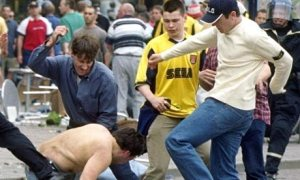 hooligans return to the English game (Image from Getty)