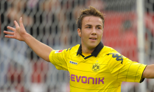 On the Move - Mario Gotze  (Image from Reuters)