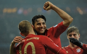 Pizarro hit four against Hamburg on Saturday (Image from PA)