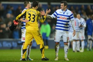 Losing Nelsen changed the QPR backbone (Image from Getty)