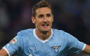 Klose Grabs Five for Lazio (Image from Getty)