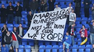 QPR fans blame Hughes for what has happened  (Image from Getty)