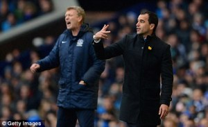 Martinez to take over from Moyes at Everton  (Image from Getty)