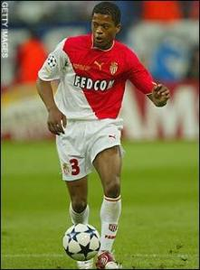 Evra is due to return to Monaco  (Image from Getty)