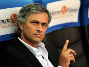 Chelsea bound? Jose Mourinho  (Image from Claudio Villa/Getty Images)