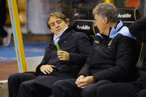 Mancini more passionate about pastilles than players  (Image from The Sun)