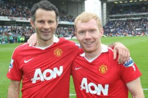 Giggs and Scholes - Future Managers  (Image from Getty)