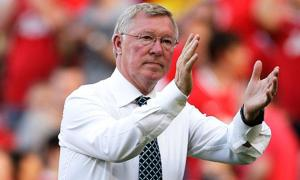 Farewell Sir Alex  (Image from Reuters)