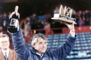Kinnear won Manager of the Month three times, not manager of the year three times (Image from PA)