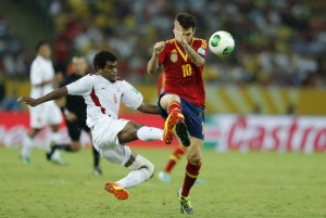 Tahiti were outclassed by Spain  (Image from PA)
