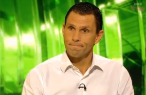Shocked on the BEEB - Poyet (Image from BBC)
