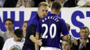 Moyes and Barkley May Reunited at United  (Image from PA)