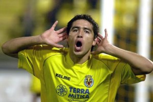Gone but not forgotten - Former star Riquelme  (Image from Getty)