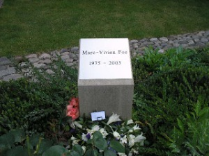 Marc-Vivien Foe's final resting place  (Image from PA)