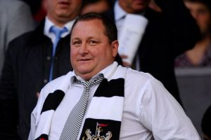 Owner Mike Ashley appeared to be planning for the future  (Image from Getty)