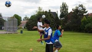 Just let them play : Sikh children playing soccer  (Image from PA)