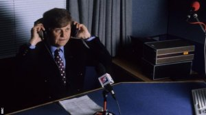 Gordon was the voice of the BBC scores for 40 years  (Image from BBC)