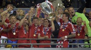 2013 Winners Bayern Munich  (Image from PA)