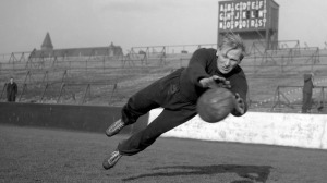 Former POW Trautmann got his break with St Helens  (Image from Getty)
