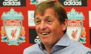 You're Kidding Right Joe? Dalglish sees the funny side  (Image from PA)