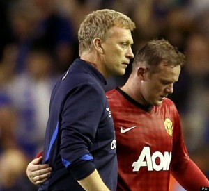 Moyes won't want to let Rooney go  (Image from PA)