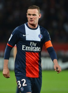 PSG bound? Rooney has options  (Image from AFP)