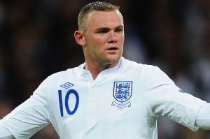 All alone - Too much pressure on Rooney to be the goal threat for England  (Image from Getty)