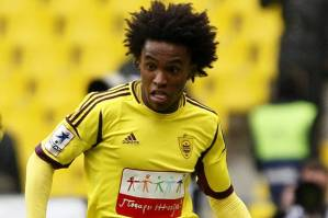 Anzhi's Willian (Image from Getty)