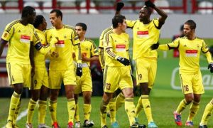 Anzhi Makhachkala squad  (Image from BBC)