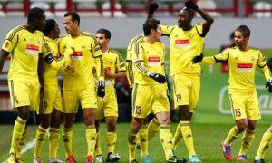 Anzhi Makhachkala squad  (Image from BBC)