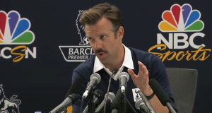 Sudeikis as Coach Lasso  (image from YouTube)