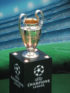 the Dream - Champions League Trophy  (Image from UEFA)