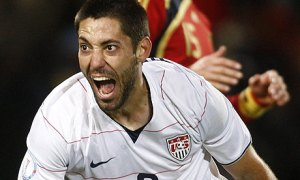 Century Boy - 1 Cap away from 100 caps for USA  (Image from Getty)