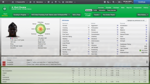 """Stars like Kurt Zouma have been on Premiership """"radars"""" for months now, despite being a stand out in the game  (Image from FM2013)"""