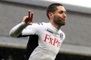 Dempsey during his time at Fulham  (Image from PA)