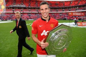 RVP was the star of this years Community Shield  (Image from BBC)
