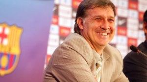 New Barca boss, Gerardo Martino (Image from Getty)