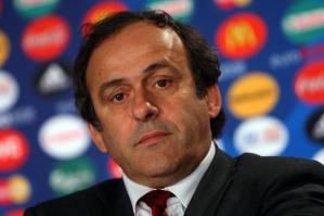 Not impressed - Platini  (Image from AFP)
