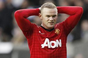 Much to Ponder for Rooney (Image from MUFC)
