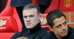 Rooney sulks yet again  (Image from Getty)