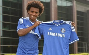 Anzhi Connection - Willian is already onboard at Chelsea (Image from Getty)