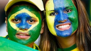 All eyes turning to Brazil (Image from AFP)