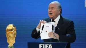 Blatter has a headache on his hands that started in 2010  (Image from Getty)