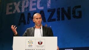 Even bid ambassador Zidane can't solve Qatar's problems  (Image from PA)